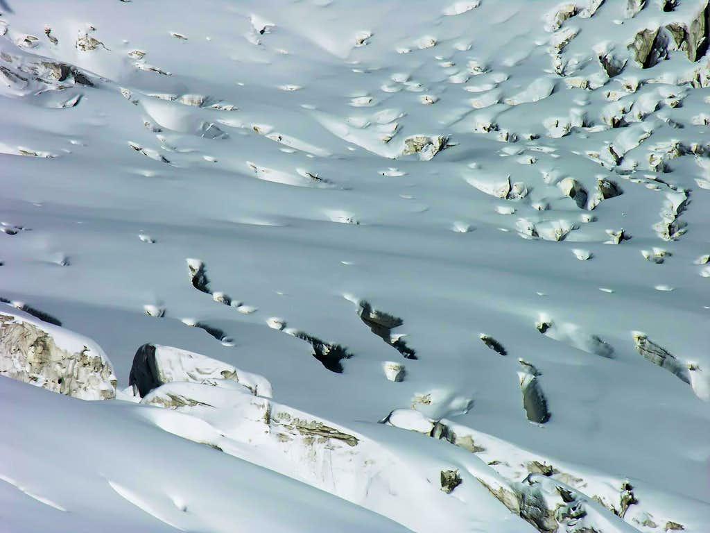 Glacier de la Vallée Blanche