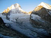 Dent Blanche(4357m) & Grand Cornier(3962m)