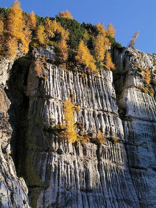 Limestone Channels on Kanin