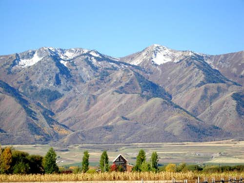 Box Elder Peak and Wellsville Cone