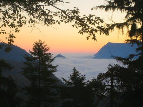 Dawn from the Kramersteig