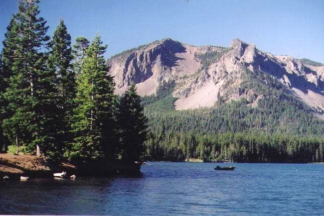 Paulina Peak as seen from the...