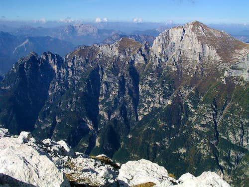 Zrd / Monte Sart summit view
