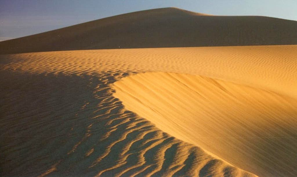 Mesquite Flat Dunes, Sunrise