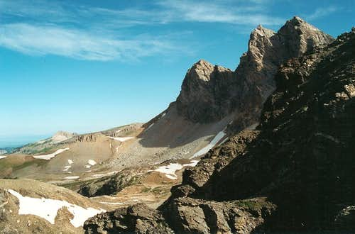 Buck Mountain from Static Peak Divide