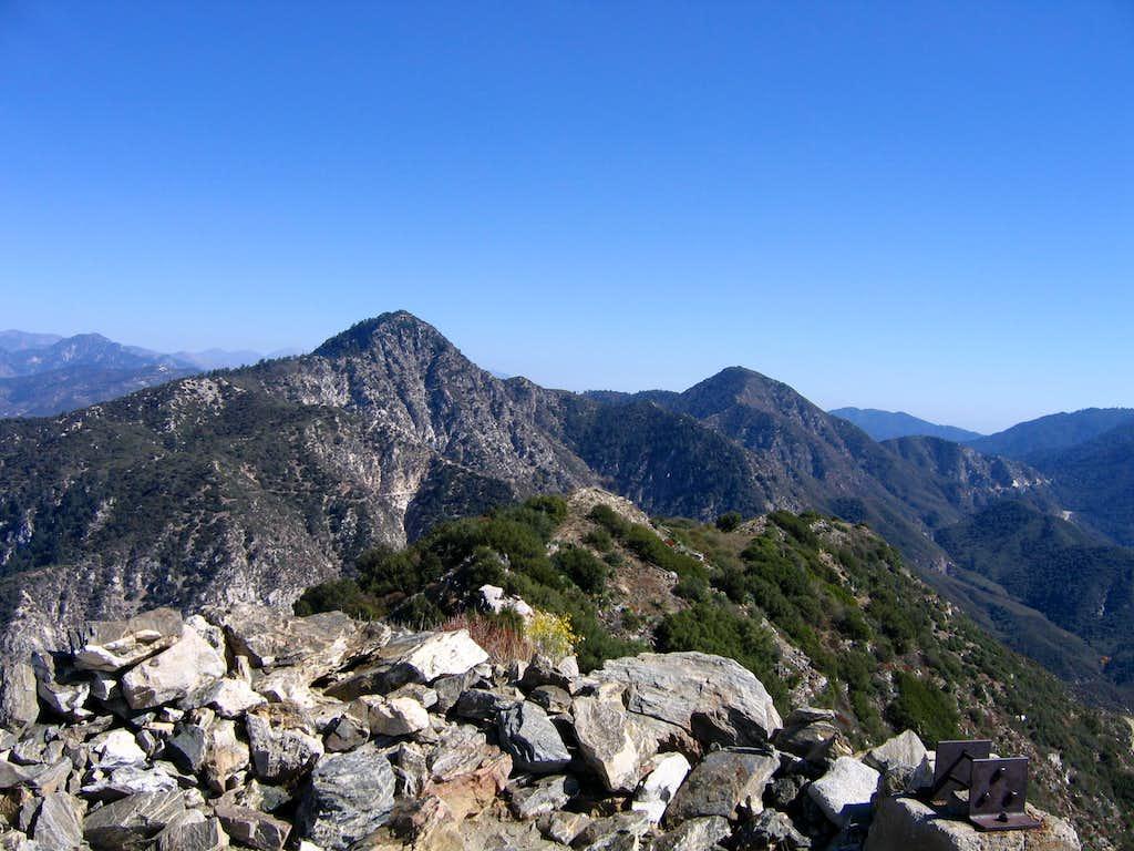 From the summit of Josephine Peak...