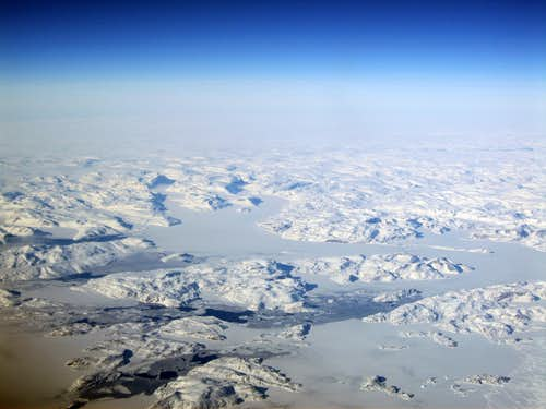 Canadian Arctic Pack Ice and Islands.