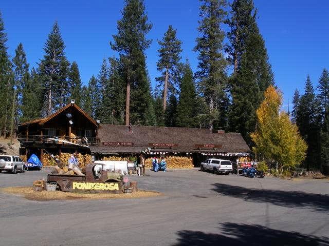 Springville california hot springs logistical centers for Ponderosa cabins california