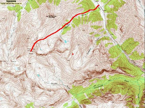 Handies\' East Face Route