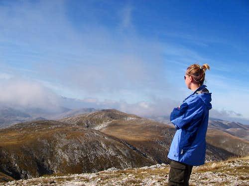 Summit of Bjelasnica Mountain, BiH