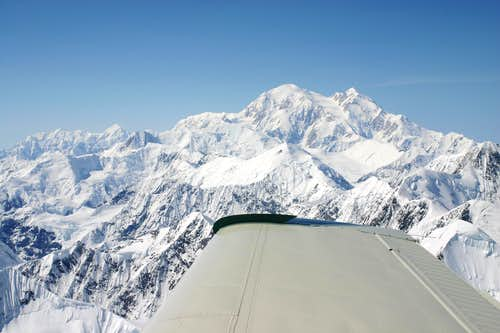 Denali off the Wing