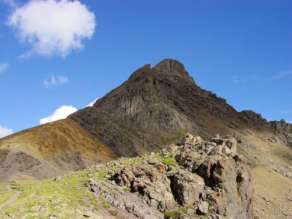 Multi-Colored Mountain