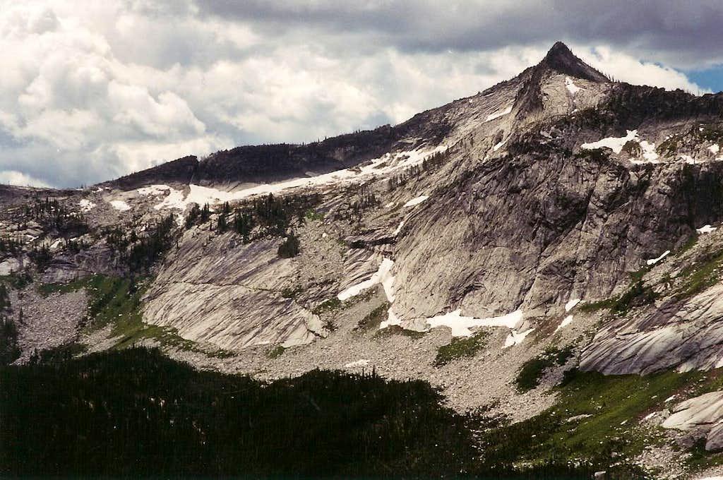 From Blodgett Pass
