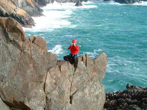MountainmanJohn on a trip to Cornish Cliffs