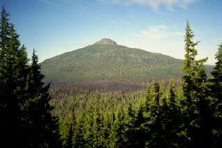 Olallie Butte from the south...