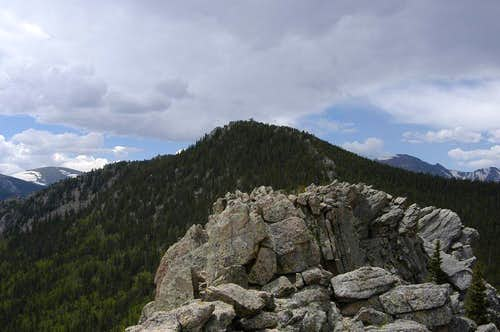 Lookout Mountain from Horsetooth Mountain