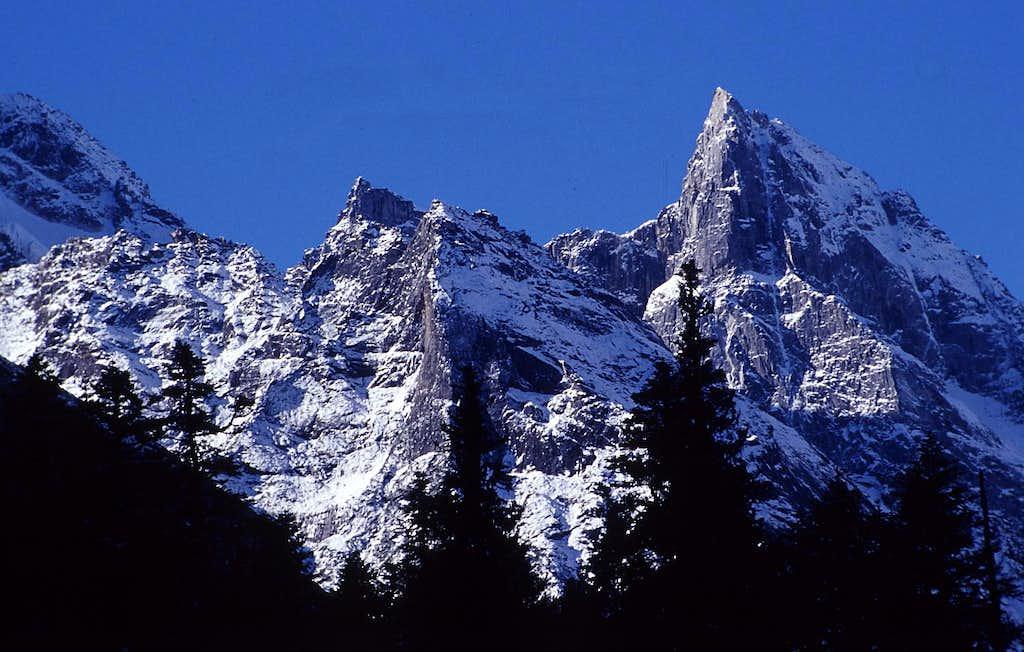 Alpine Peak in  Bipeng Valley