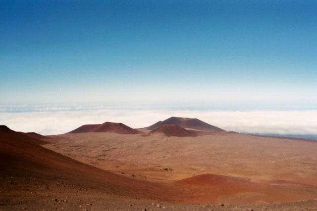 More Mauna Kea moonscape....