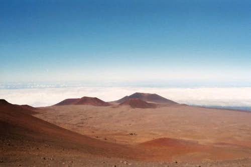 More Mauna Kea moonscape....