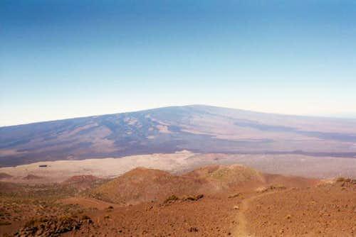 Mauna Loa fom the Mauna Kea...