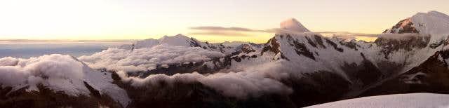 Pisco summit view