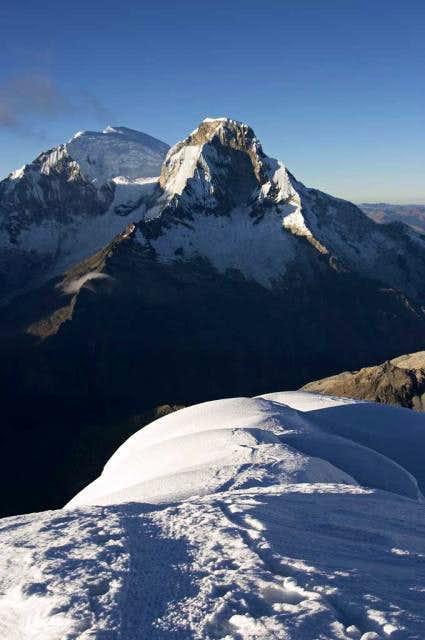Pisco summit ridge