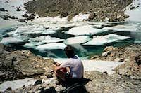 Icy Tarn Below Warren Peak Mt.