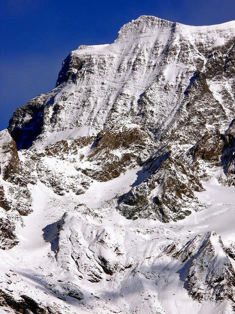 Il Grand Combin de Valsorey (4164 m.) versante sud