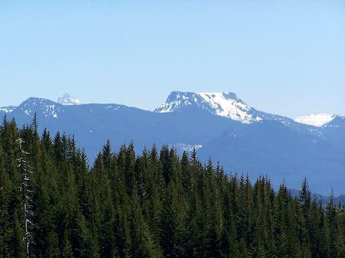 Coffin Mountain w/ snow