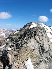 Big G coming down the ridge...