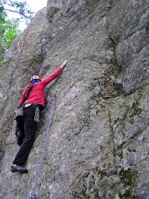 Climbing @ Mount Erie