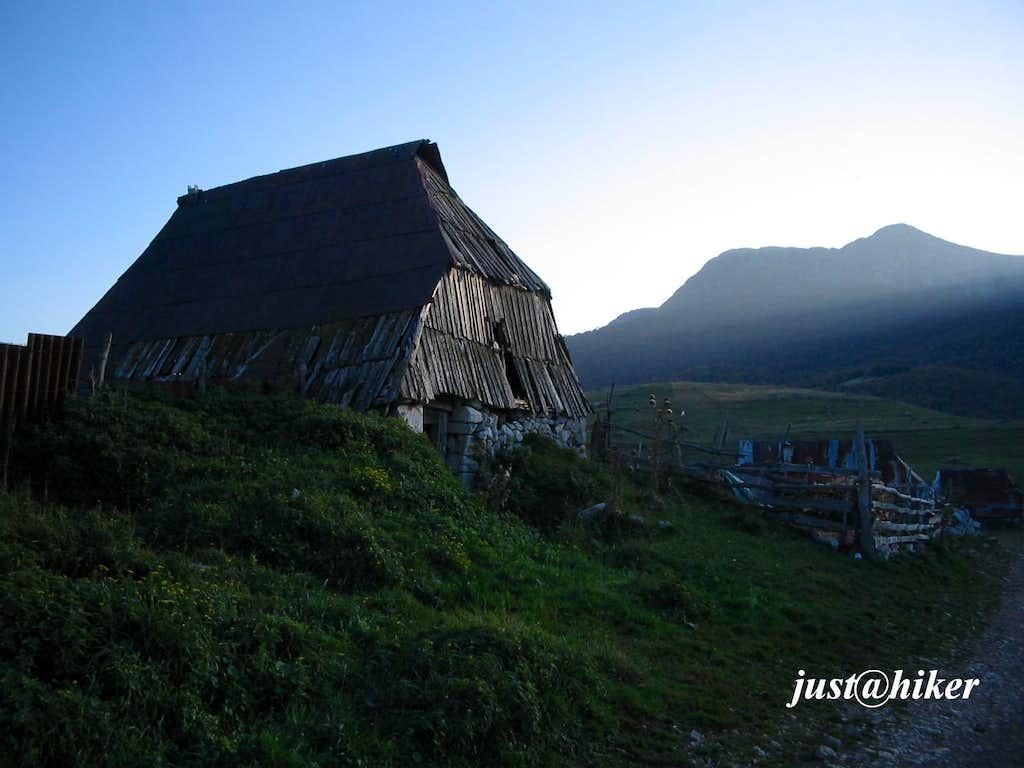 Traditional shepherd house