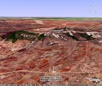 M'Ponduine from Google Earth