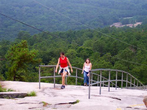 Elevation Gain Stone Mountain Hike : Stone mountain climbing hiking mountaineering