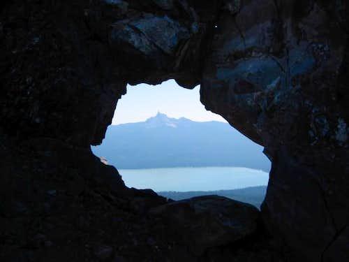 Mt. Thielsen and Diamond Lake...