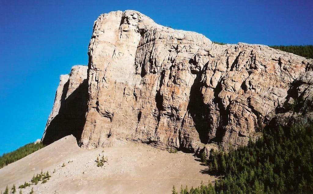 Cliffs above the South Fork Teton River