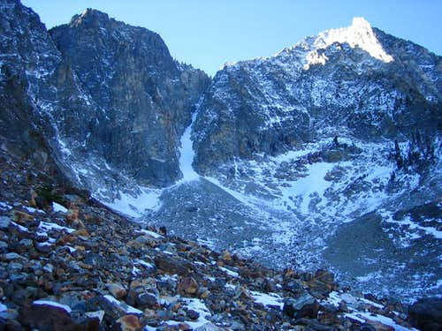 Sickle Couloir