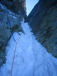The Upper Sickle Couloir