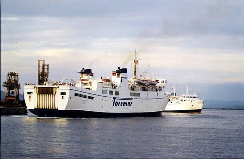 Ferry to Elba