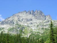 View of Seven Fingered Jack...