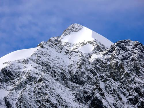 Petit Mont Blanc <i>(3423m)</i> and Aiguille de Trelatete <i>(3920m)</i>