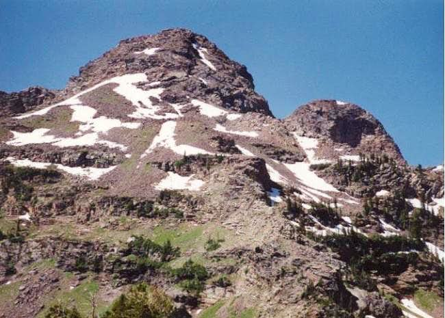 Close up of Dromedary Peak...