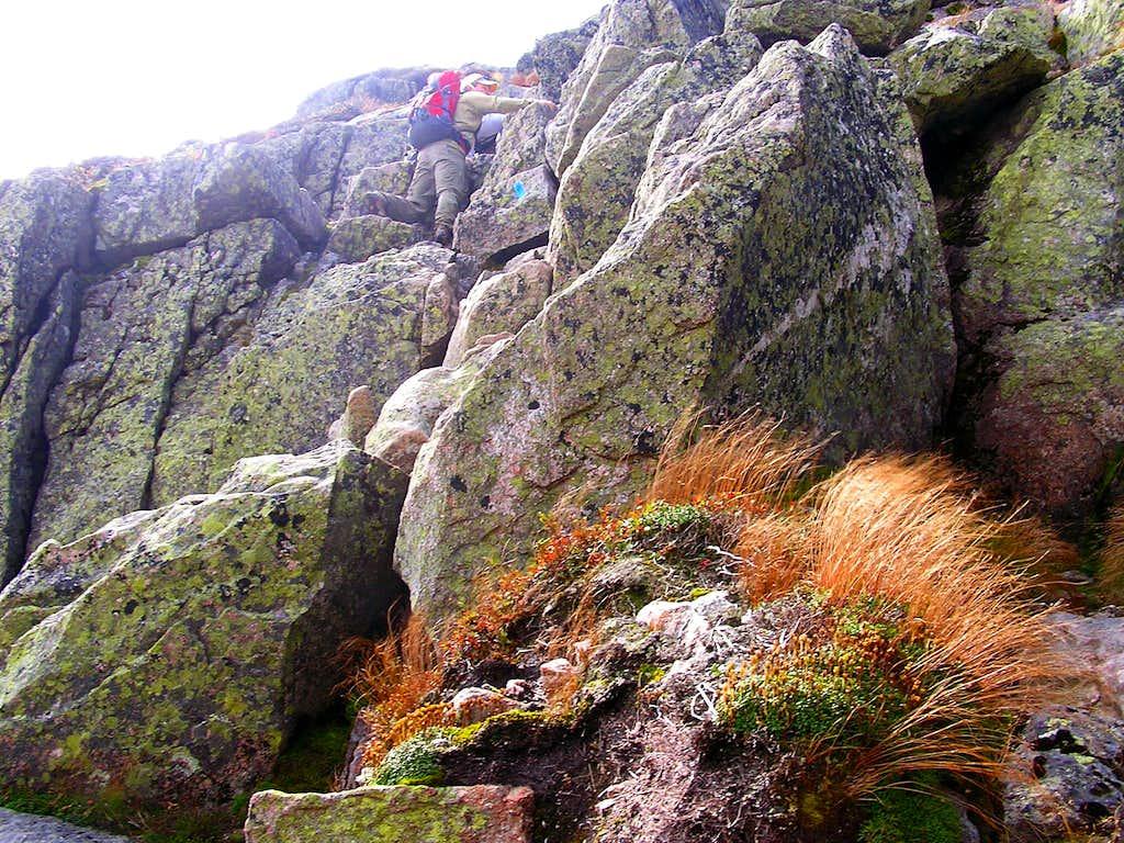 Climbing the Notch