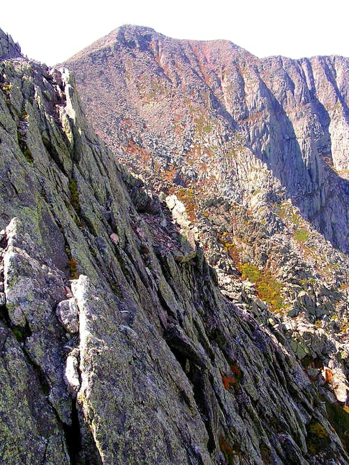 South Peak from the Knife Edge