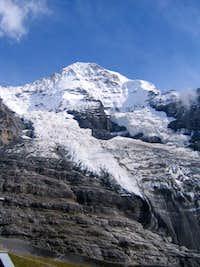 Monch from Eigergletscher
