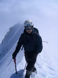 Monch summit ridge