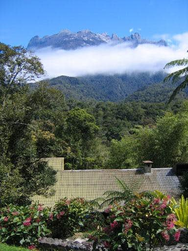 View of Kota Kinabalu from below