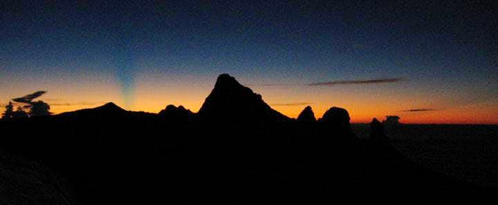 Kinabalu - Sunrise on the summit