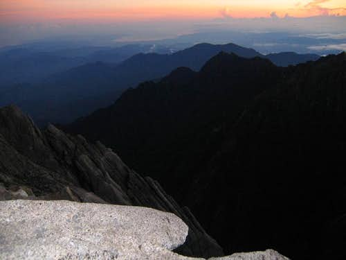 Kinabalu - View from the summit
