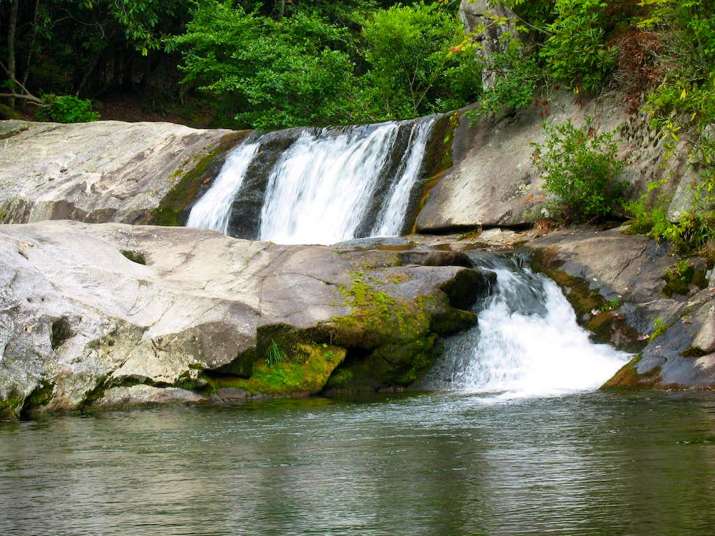 hunt fish falls nc photos diagrams topos summitpost